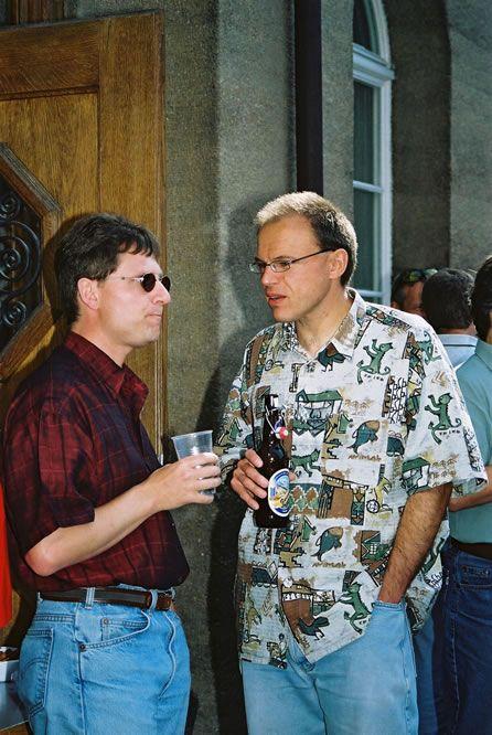 Jahrgängertreffen 2002 Apéro 8