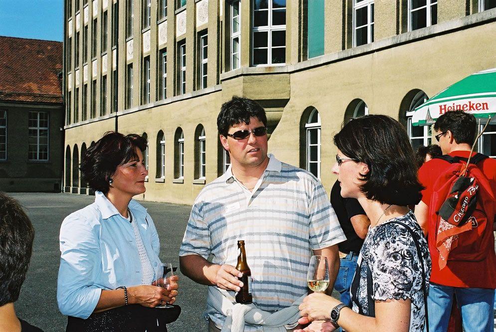 Jahrgängertreffen 2002 Apéro 9