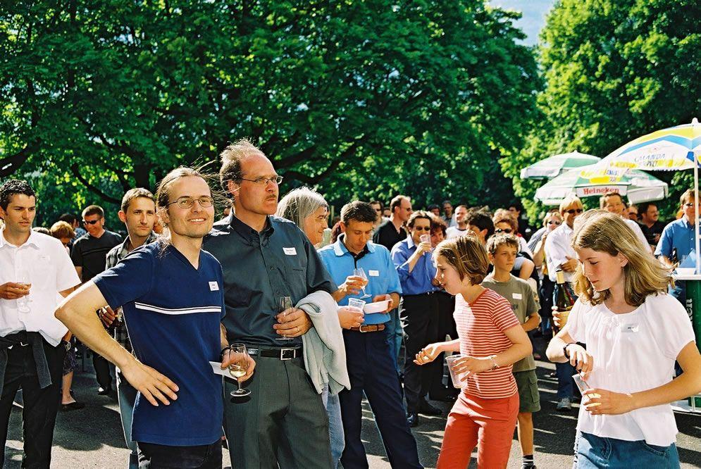 Jahrgängertreffen 2002 Apéro 60