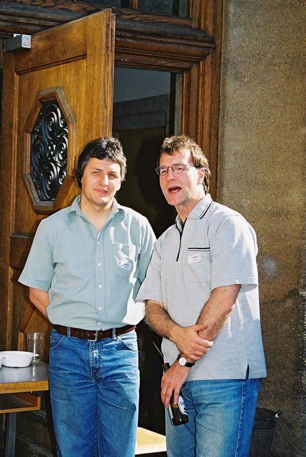 Jahrgängertreffen 2002 Apéro 1