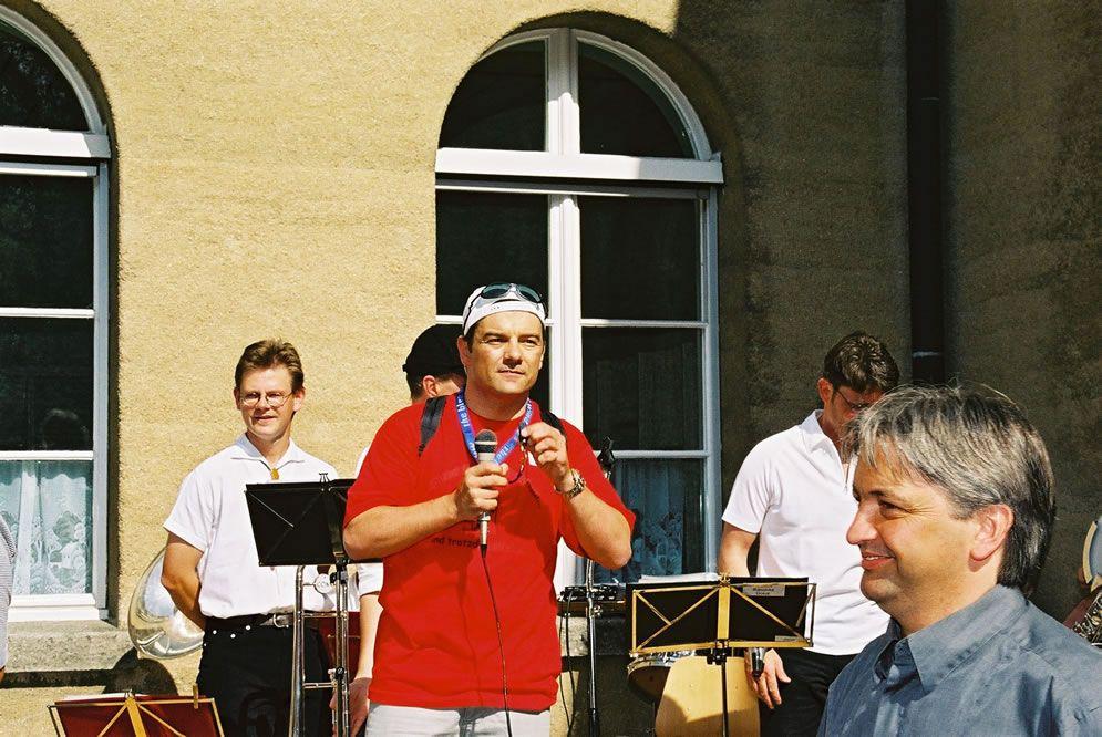 Jahrgängertreffen 2002 Apéro 15
