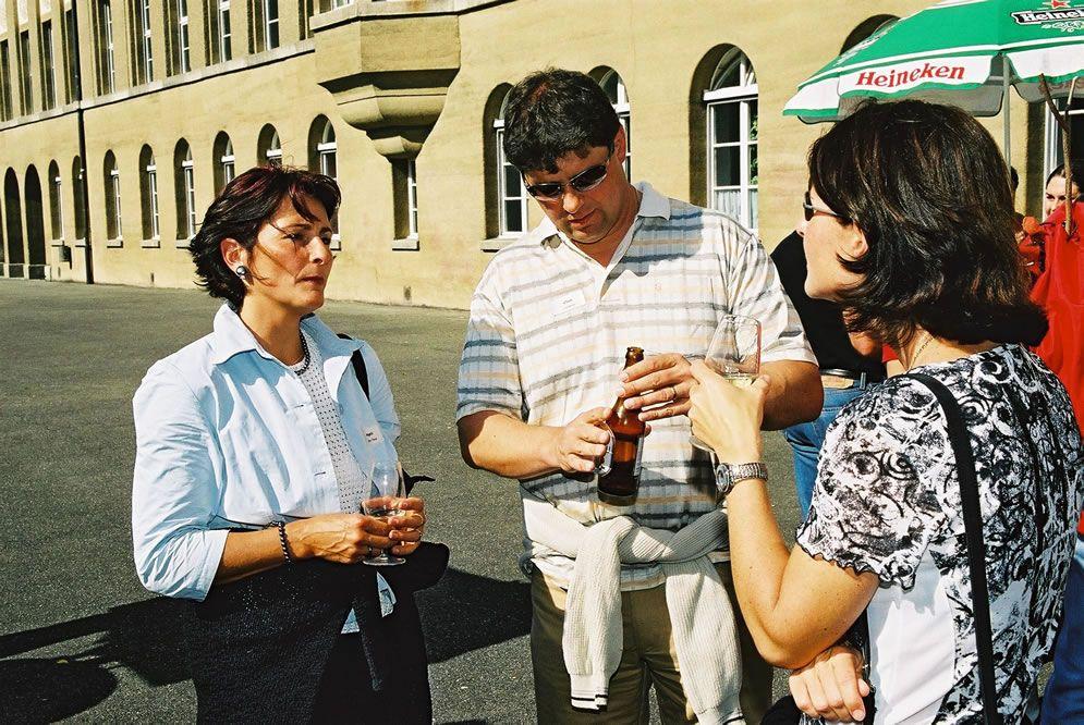 Jahrgängertreffen 2002 Apéro 54