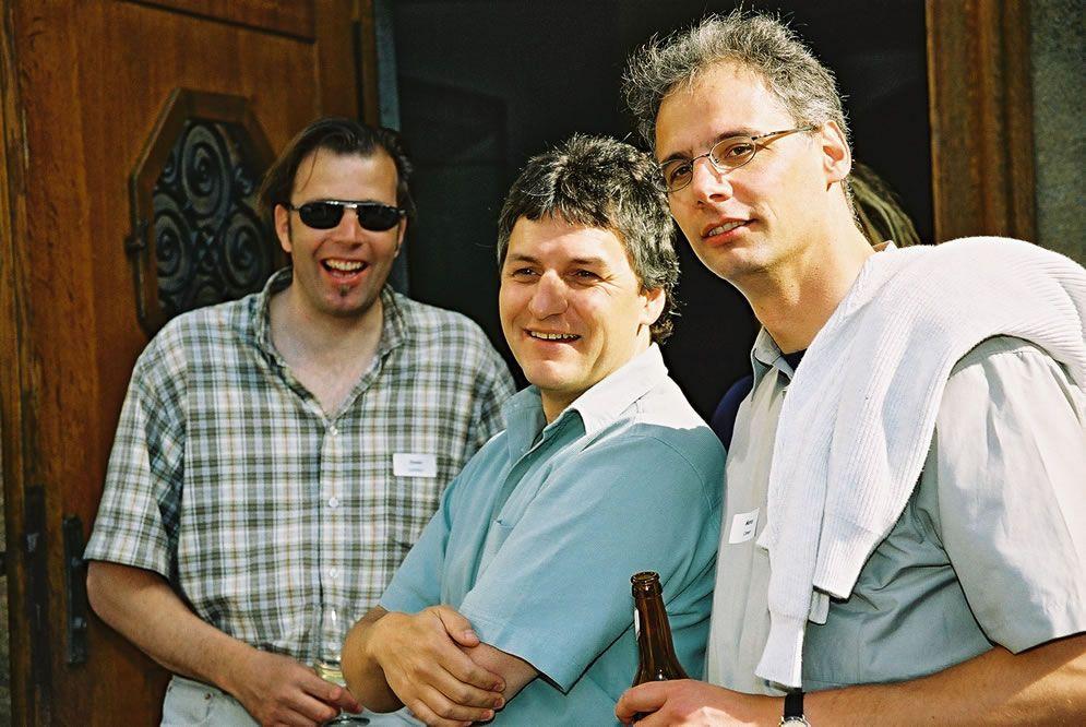 Jahrgängertreffen 2002 Apéro 55