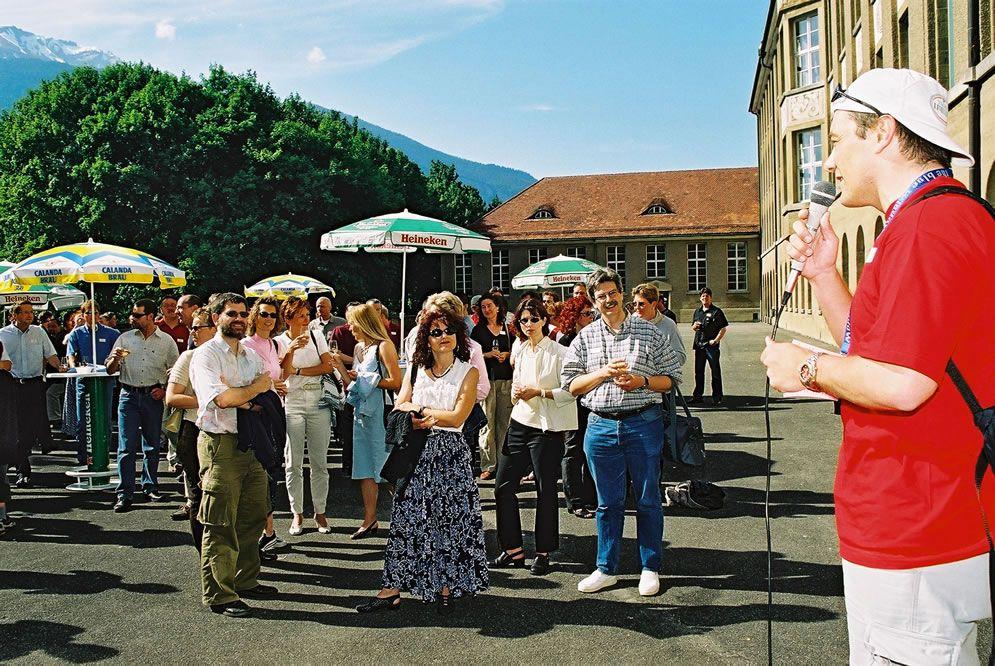 Jahrgängertreffen 2002 Apéro 59